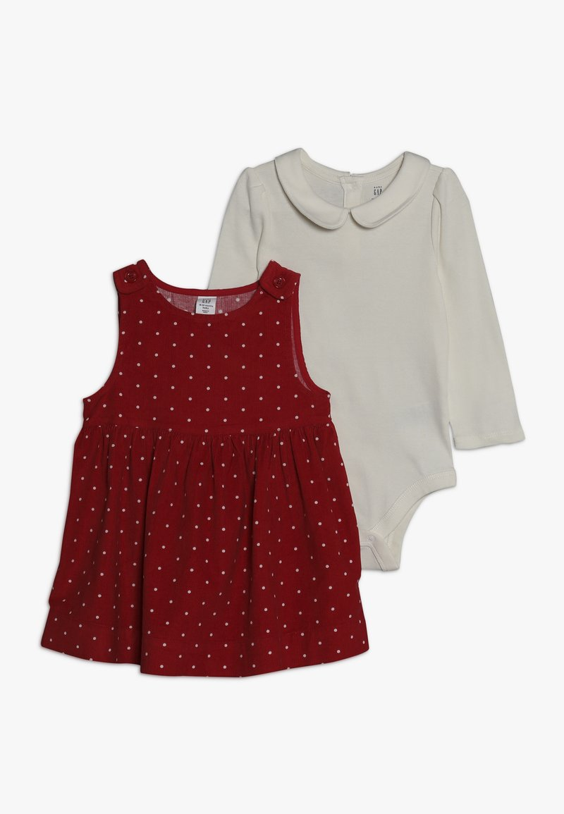 GAP - DOT BABY SET - Body - modern red