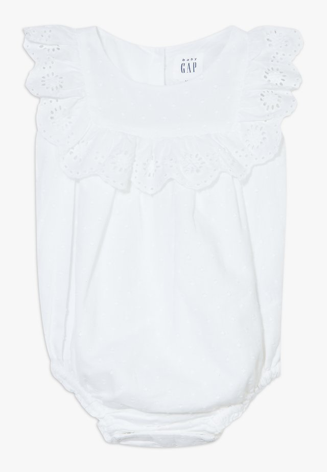 EYELET - Bluse - optic white