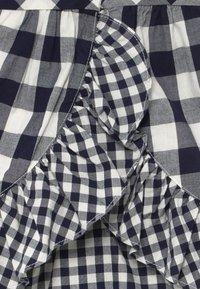 GAP - GINGHAM  - Vestito estivo - navy uniform - 4