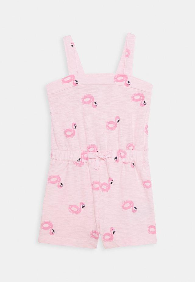 TODDLER GIRL DRAWSTRING ROMPER - Tuta jumpsuit - pink