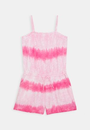 GIRL - Jumpsuit - pink tie dye