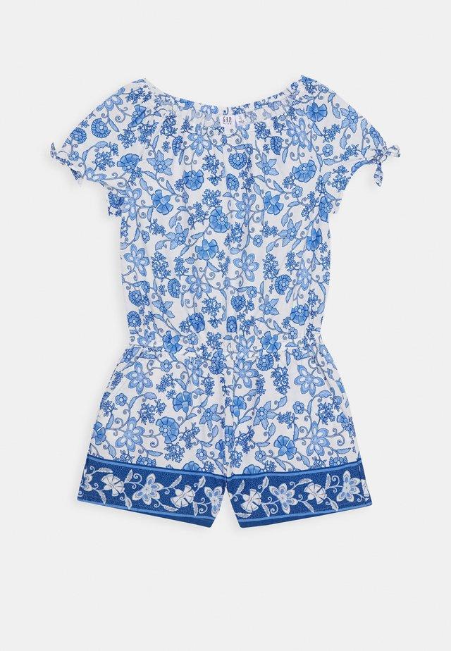 GIRL - Jumpsuit - blue floral