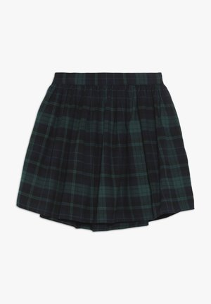 GIRL PLAID SKIRT - Áčková sukně - green