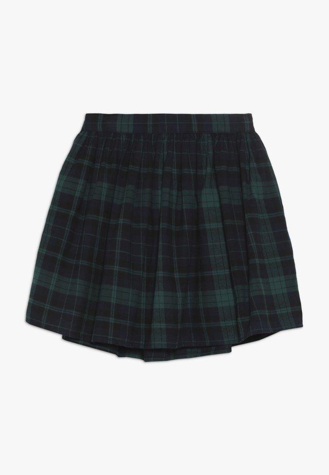 GIRL PLAID SKIRT - A-Linien-Rock - green