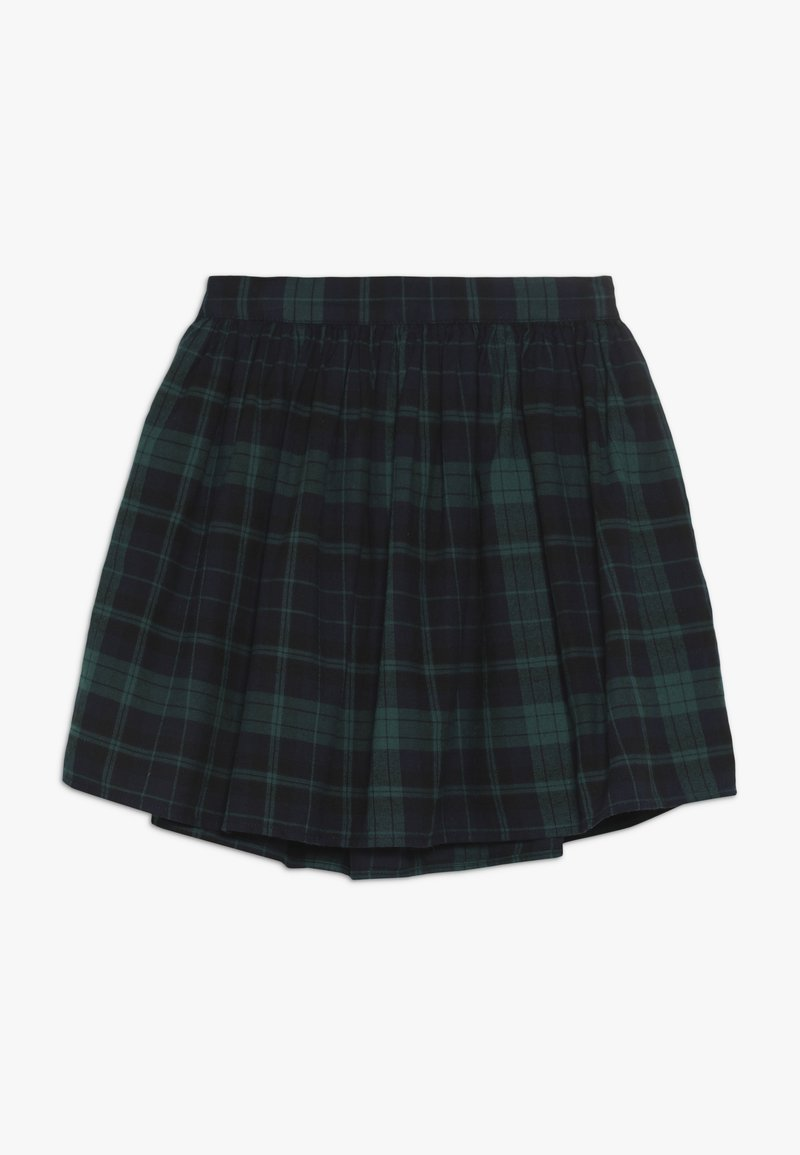 GAP - GIRL PLAID SKIRT - A-Linien-Rock - green