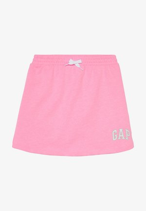 GIRL LOGO SKORT - Minisukně - neon impulsive pink