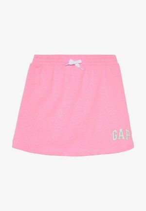 GIRL LOGO SKORT - Minijupe - neon impulsive pink