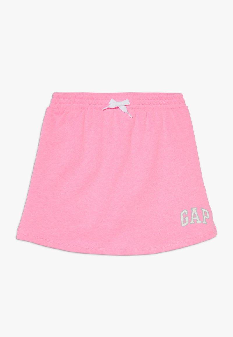 GAP - GIRL LOGO SKORT - Minirok - neon impulsive pink