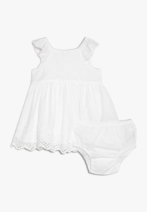 EYELET BABY - Cocktail dress / Party dress - optic white