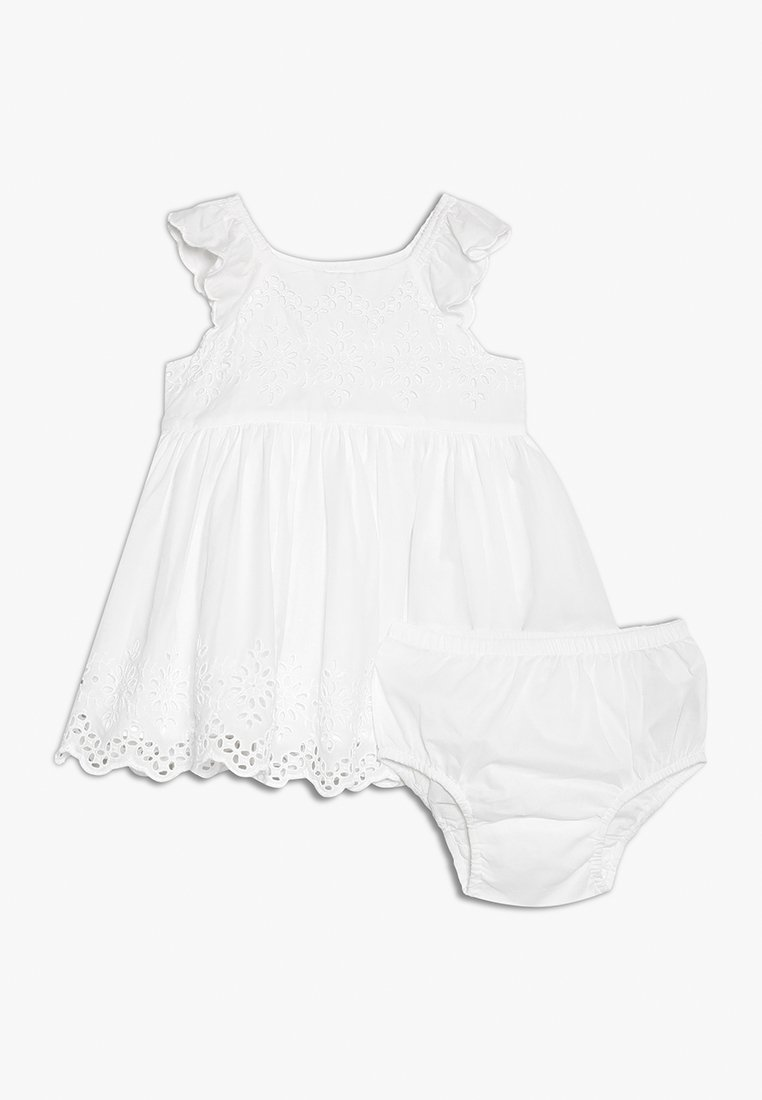 GAP - EYELET BABY - Cocktailkleid/festliches Kleid - optic white