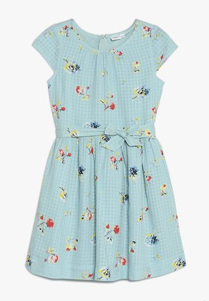 GIRLS ITEMS TIE - Denní šaty - island blue
