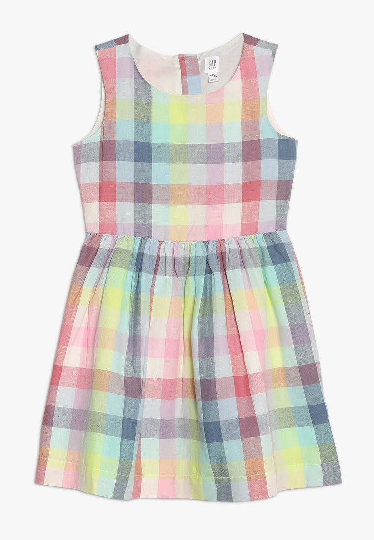 GAP - GIRLS ITEMS PLAID - Freizeitkleid - surf spray
