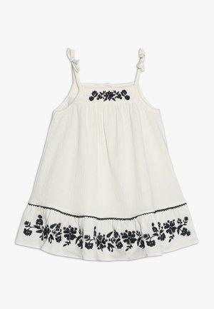 BABY SET - Jersey dress - ivory frost