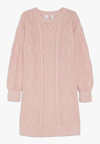 GAP - GIRL CABLE - Robe pull - pink standard - 0