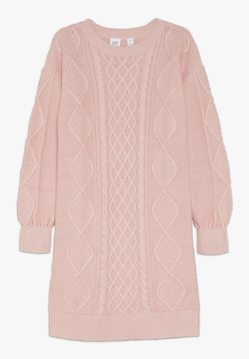 GAP - GIRL CABLE - Robe pull - pink standard