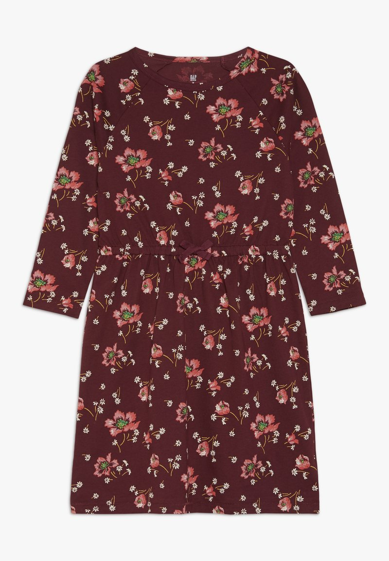 GAP - GIRL - Jerseyklänning - light rosewood