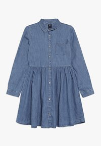 GAP - GIRL - Vestito di jeans - medium indigo - 0