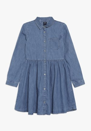 GIRL - Denimové šaty - medium indigo