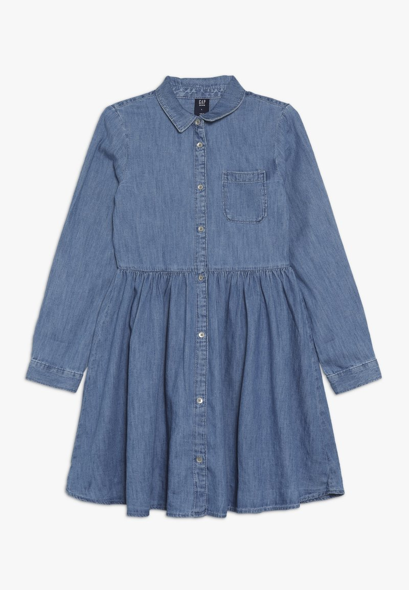 GAP - GIRL - Vestito di jeans - medium indigo