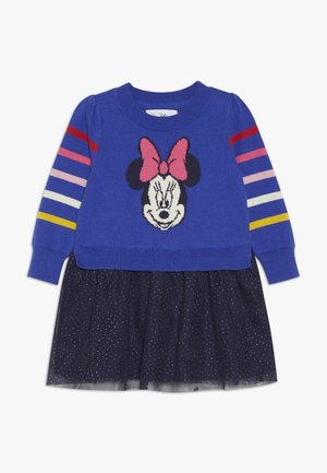 MINNIE MOUSE TODDLER GIRL - Vestido de punto - blue