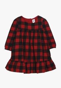 GAP - TODDLER GIRL SHIFT  - Vestido informal - red - 0