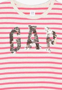 GAP - GIRL - Denní šaty - beige melange/pink - 4