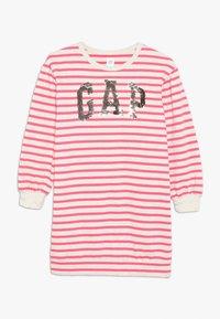 GAP - GIRL - Denní šaty - beige melange/pink - 0