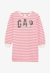 GAP - GIRL - Denní šaty - beige melange/pink - 3