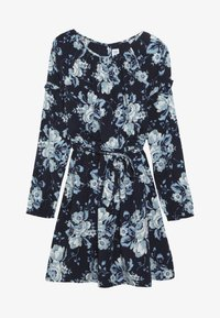 GAP - GIRL EASY TIE - Freizeitkleid - navy uniform - 2