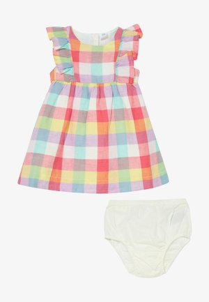 PLAID SET - Vestido de cóctel - new off white