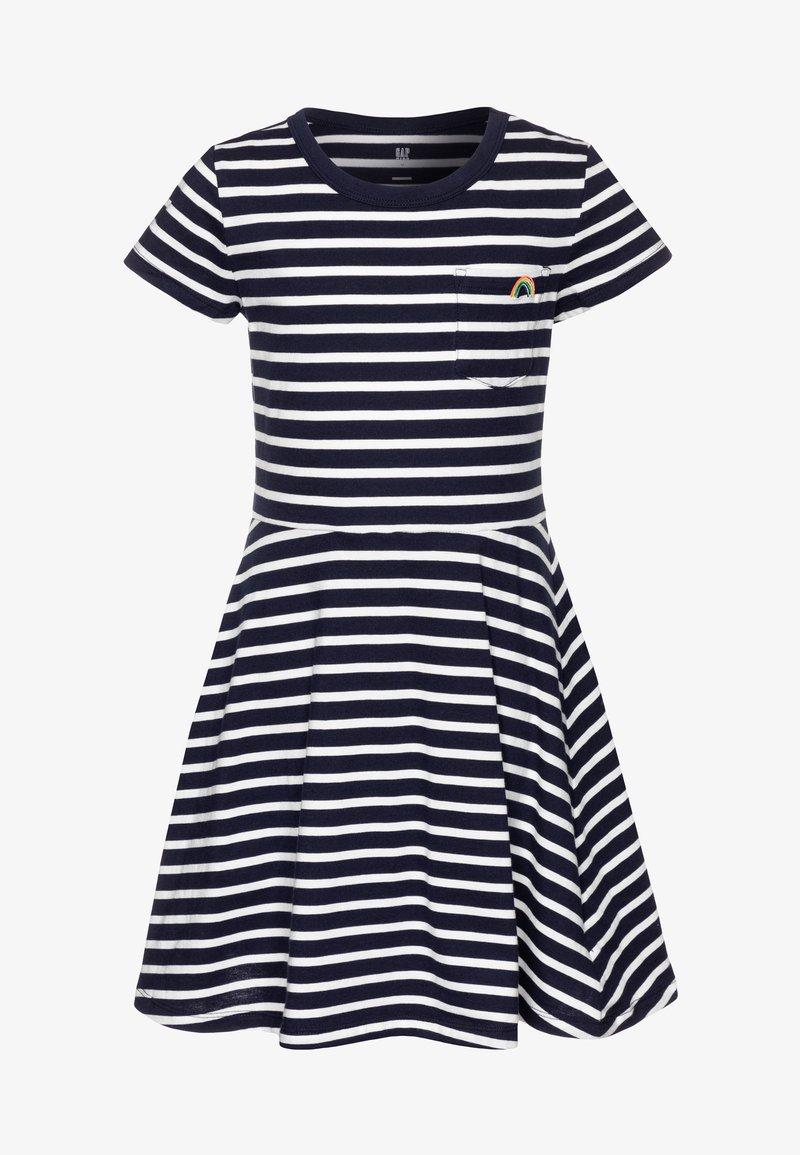 GAP - GIRL - Jerseyjurk - navy stripe