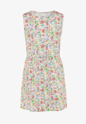 GIRL DRESS - Vestito di maglina - multicolor