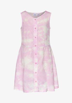 GIRL DRESS - Košilové šaty - purple