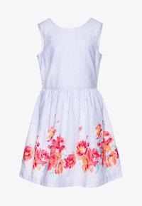 GAP - GIRL V-SCOOP - Vestido informal - blue - 0