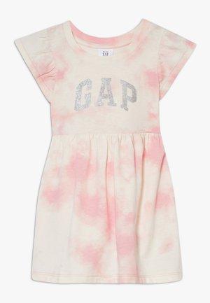 TODDLER GIRL LOGO DRESS - Vestito di maglina - pink