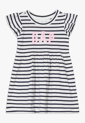 TODDLER GIRL LOGO DRESS - Jerseyjurk - dark blue