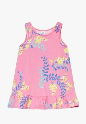 TODDLER GIRL BOW DRESS - Žerzejové šaty - pink