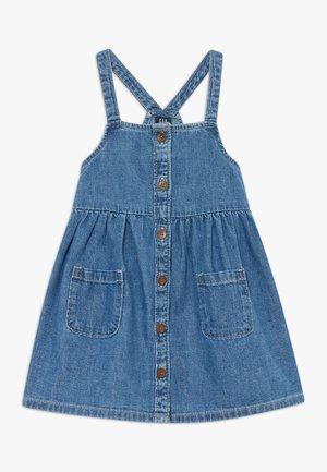 TODDLER GIRL - Denimové šaty - blue denim