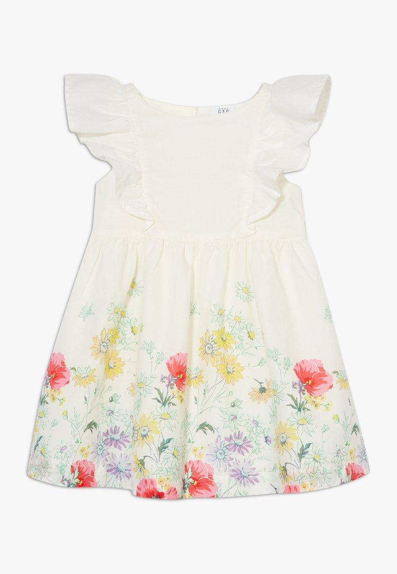 GAP - TODDLER GIRL BORDER DRESS - Korte jurk - multicolor