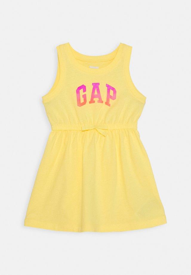 TODDLER GIRL LOGO TANK - Robe en jersey - yellow sun
