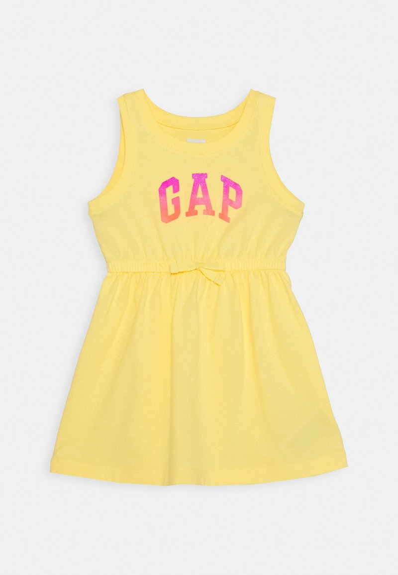 GAP - TODDLER GIRL LOGO TANK - Jerseykleid - yellow sun
