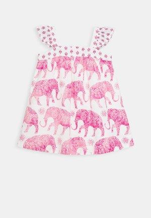 TODDLER GIRL ELEPHANT - Denní šaty - pink