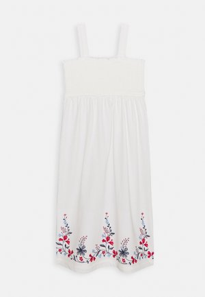 GIRL SMOCK - Jersey dress - new off white