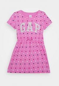 GAP - GIRL LOGO DRESS - Jersey dress - multi coloured - 0