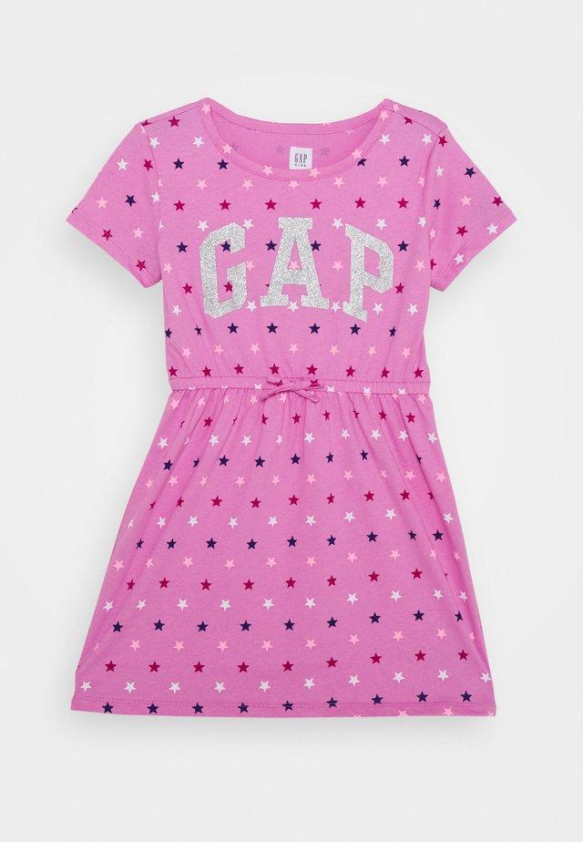 GIRL LOGO DRESS - Jerseykleid - multi coloured
