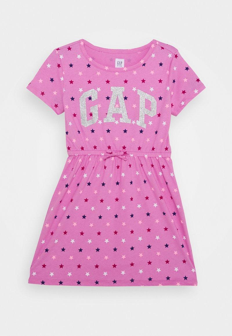 GAP - GIRL LOGO DRESS - Jersey dress - multi coloured
