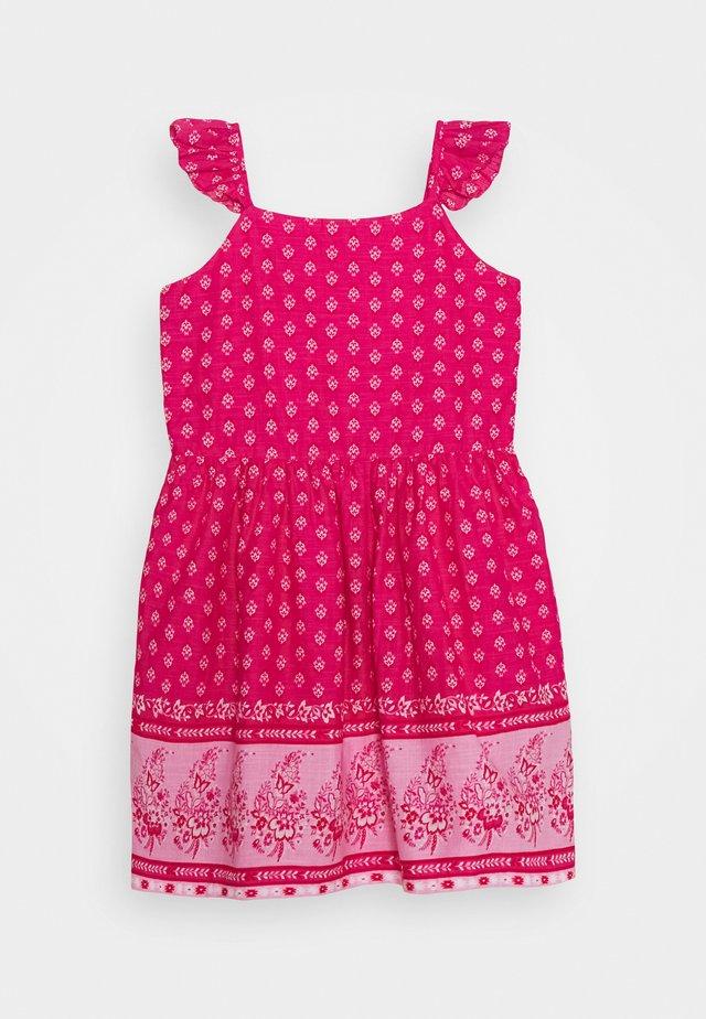 GIRL - Korte jurk - sizzling fuchsia