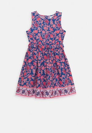 GIRL - Day dress - red floral print