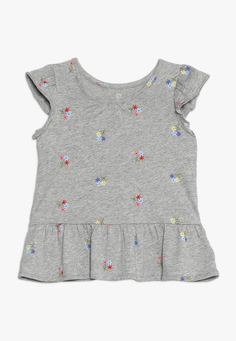GAP - TODDLER GIRL - T-shirts print - mottled grey