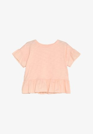GIRLS TOP - T-Shirt print - candlestick coral